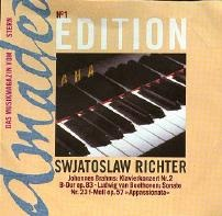 Amadeo : Richter - Brahms, Beethoven