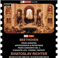 Urania Widescreen Collection : Richter - Beethoven Works