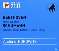 Sony Classical Masters X2 : Horowitz - Beethoven, Schumann